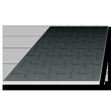 Steel floor plate