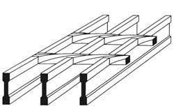 Steel walkways and grating